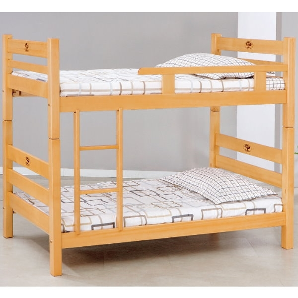 雙層床 AT-599-2 檜木3尺雙層床 (不含床墊) 【大眾家居舘】