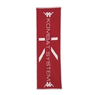KAPPA 時尚運動提花毛巾 正紅 白 351727WD18
