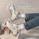 老爹鞋女ins潮2020新款網紅百搭超火加絨運動鞋秋冬季智熏棉鞋子 蘿莉小腳丫