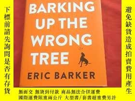二手書博民逛書店BARKING罕見UP THE WRONGY179070 ERI