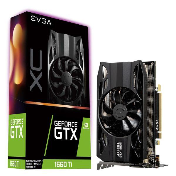 EVGA GTX 1660 Ti XC (06G-P4-1263-KR)【刷卡含稅價】
