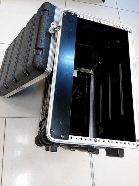 【金聲樂器廣場】專業 5U RACK 瑞克箱 ABS 硬盒 附輪子 手拉桿