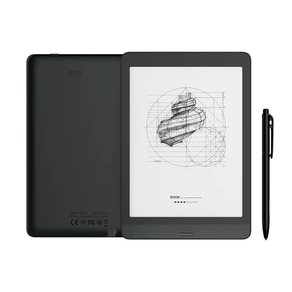 【ONYX文石 BOOX Nova 3】7.8吋八核心電子書閱讀器(贈筆及書套)