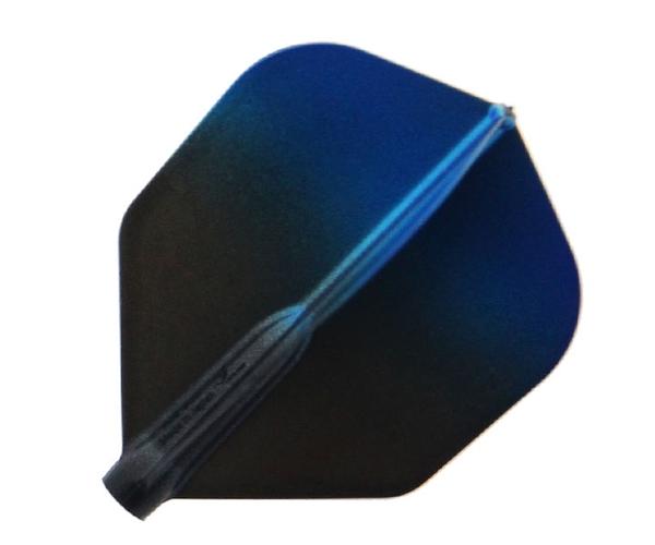 【Fit Flight AIR x Esprit】Black Gradation Shape Blue 鏢翼 DARTS