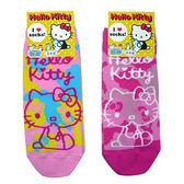 non-no儂儂褲襪《5入》日本製三麗鷗女短襪(迷彩kitty)3713-317