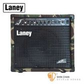 Laney 迷彩限量款 35瓦電吉他音箱 LX35R Camo(含Reverb效果)【Laney電吉他音箱專賣店/LX-35R】