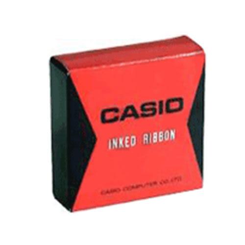 【奇奇文具】【CASIO 卡西歐 計算機 專用色帶】CASIO RB02 紅/黑DR系列計算機色帶/紙帶機色帶