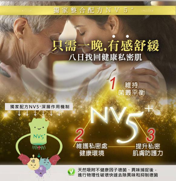WellnuX有感系列NV5⁺維妮舒告別困擾深層保養組-原液芬露+長效舒芙x2支