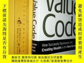 二手書博民逛書店英文原版罕見大精裝 Cracking the Value Code: How Successful Busines