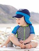 防曬游泳帽兒童護頸帽沙灘度假