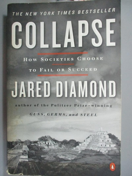 【書寶二手書T3/社會_JPZ】Collapse-How Societies Choose to Fail or Suc