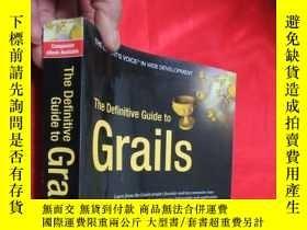 二手書博民逛書店The罕見Definitive Guide to Grails
