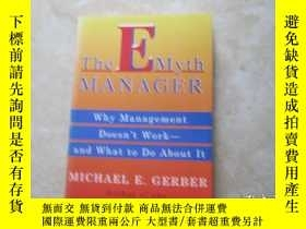 二手書博民逛書店The罕見E-Myth Manager: Why Managem