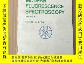 二手書博民逛書店modern罕見fluorescence spectroscopy volume 2(P3597)Y17341