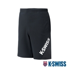 K-SWISS Slope KS Logo Shorts運動短褲-男-黑