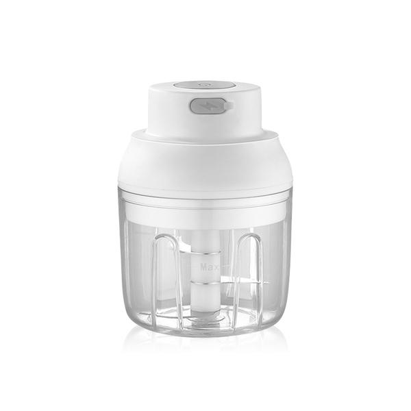 安全感應 雙刀 雙杯 420不鏽鋼 蒜泥神器 一鍵攪拌 絞肉 副食品 料理 攪拌器 攪拌杯 調理機 攪拌機