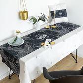桌布布藝工業風棉麻餐桌布茶幾桌布書桌布【極簡生活館】