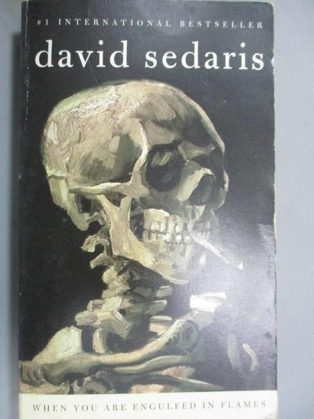 【書寶二手書T6/行銷_BM2】When You Are Engulfed in the Flames_David Sedaris