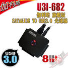 [ PC PARTY ] 伽利略 旗艦版 SATA&IDE TO USB3.0 光速線 支援8TB