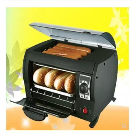 小型迷妳家用全自動烤腸機香腸機兒童營養早餐機熱狗機 熱面包機 igo 220v 夏洛特居家