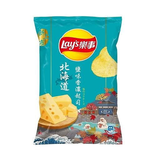 Lay s樂事洋芋片75g 北海道鹽味香濃起【寶雅】