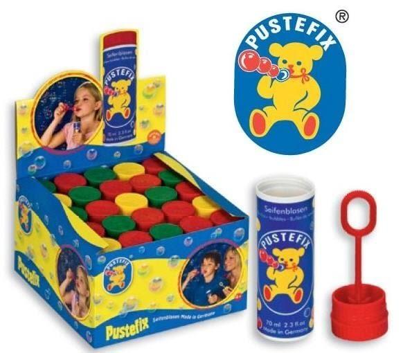 【德國 Pustefix】經典款魔法泡泡瓶←泡泡水 補充罐 補充液 泡泡槍 氣泡槍 戶外 玩具