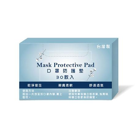 台灣製 口罩防塵保潔墊 (30片/盒) 口罩內墊 口罩保潔墊 防疫 拋棄式 透氣 搭配口罩使用