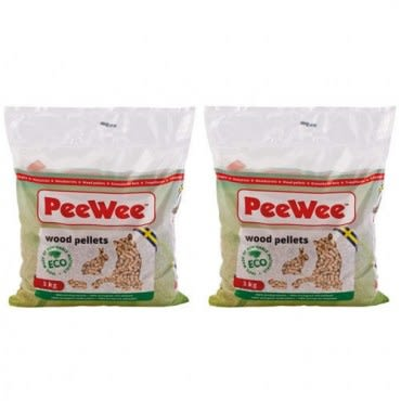 PeeWee 必威 強效松木砂/貓砂 3kg X 2包