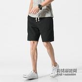 休閒短褲五分褲男士加肥大尺碼寬鬆大褲衩正韓潮男褲子