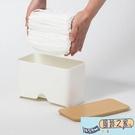 一次性口罩收納盒家用大容量抽取式廚房紙巾盒幼兒園成人學生兒童 【風鈴之家】