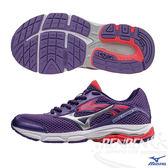 MIZUNO美津濃 INSPIRE12 Jr. 支撐型童鞋(紫*銀)