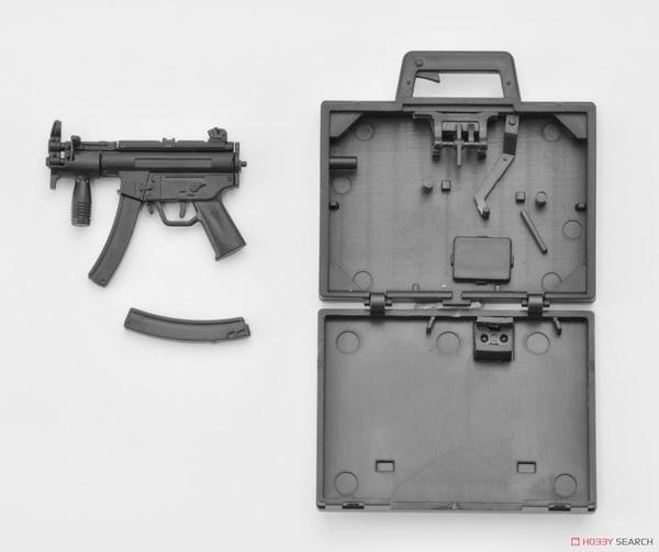 TOMYTEC 1/12 迷你武裝 LA045 MP5K KOFFER 衝鋒槍 手提箱 TOYeGO 玩具e哥