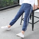 男童褲子2020新款夏裝薄款休閒褲兒童運動褲寶寶防蚊褲潮裝長褲 滿天星