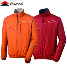 丹大戶外用品 衣力美【EasyMain】 男款防風撥水輕量保暖立領外套 透氣/質輕 C1283-17暗磚紅