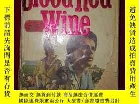 二手書博民逛書店Blood罕見Red WineY171508
