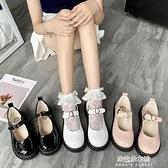 娃娃鞋 春季小皮鞋女復古瑪麗珍鞋女厚底一字扣學院風JK軟妹娃娃鬆糕 【母親節特惠】