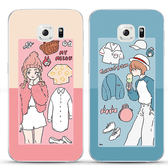 三星 S9 Plus S9 粉藍情侶殼 手機殼 保護殼 軟殼 全包邊 S9+手機殼