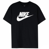 NIKE AS M NSW TEE ICON FUTURA 男款黑色短袖T-NO.AR4855696
