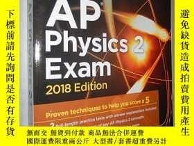 二手書博民逛書店Cracking罕見the AP Physics 2 Exam,
