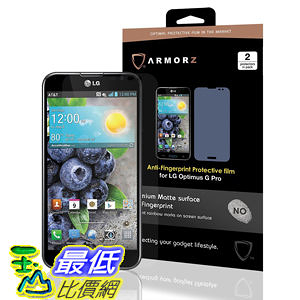 ARMORZ Screen Protector for LG Optimus G Pro (Two Pack) (Anti-Glare) 美國隱形神盾級 螢幕保護貼 $787