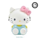 【SAS】日本限定 三麗鷗 HELLO KITTY 凱蒂貓 3D POCHI p+g design 收納包 / 零錢包 (淺藍款)
