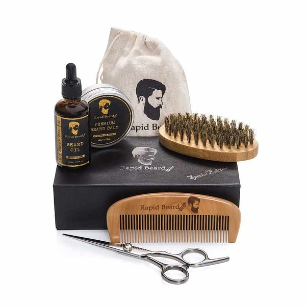 男士鬍鬚護理套組 Beard Grooming & Trimming Kit for Men Care [2美國直購]