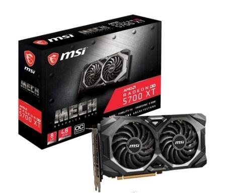 微星 Radeon RX 5700 XT MECH OC【刷卡含稅價】【刷卡含稅價】