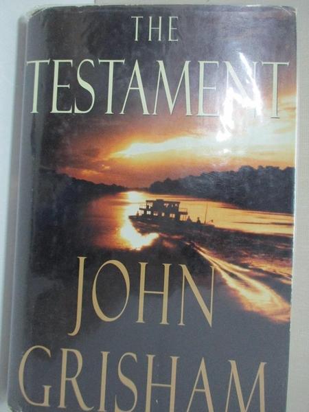 【書寶二手書T1/原文小說_CDQ】The Testament_Grisham, John