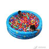 盈泰加厚充氣游泳池 家庭 嬰幼兒童圓形戲水池  洗澡沙海洋球池 igo 樂芙美鞋