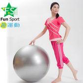 《Fun Sport 》平面抗力球65CM  生產銀買即送教學DVD 一片韻律球彈力球瑜珈