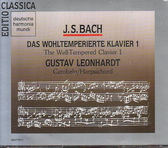 【正版全新CD清倉  4.5折】THE WELL TEMPERED CLAVIER 1 BACH/BACH, JOHANN SEBASTIAN