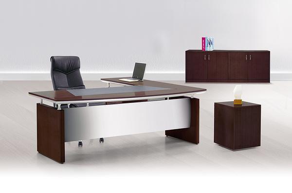 【IS空間美學】7尺主管桌整組(L型/8936)