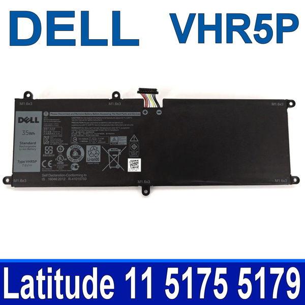DELL VHR5P 2芯 原廠電池 Latitude 11 5175  5179 7.6V 35WH