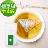 KOOS-韃靼黃金蕎麥茶+清韻金萱烏龍茶-獨享組各2袋(10包入)